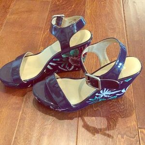 CL by Laundry Tropical Wedge